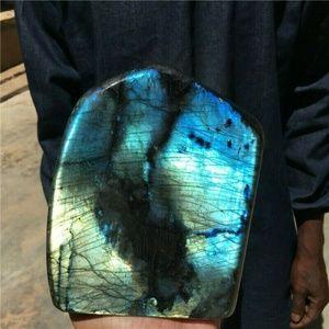 AAA 7.04LB Natural Labradorite Mineral Quartz